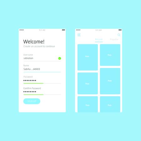 mobile phone interface design