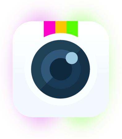 A Photo camera button. Ilustracja