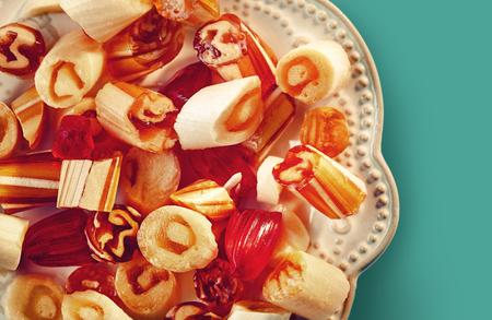 Traditional Turkish sugar candies