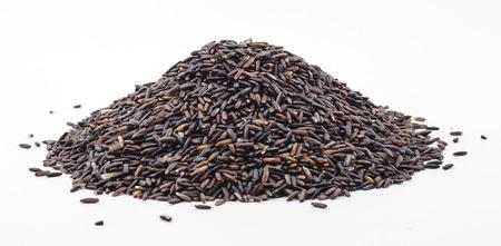 jasmine rice: Jazm�n Negro baya Arroz arroz, alimentos de fondo