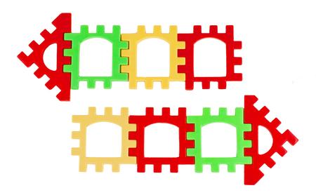motley: background isolated arrows multicolored motley