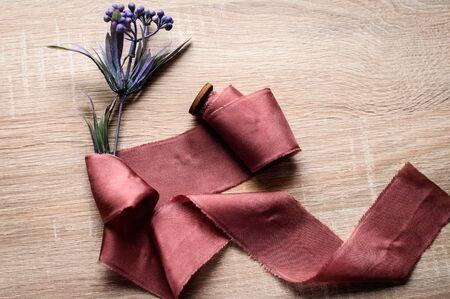Ribbon cotton for bridal bouquet, wedding decor, gift wraps, invitation ribbon