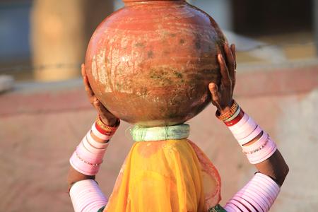 Pot on Head photo
