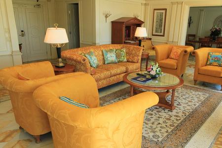 Gold Coast, Australia � December 2, 2012: Luxury hotel room at the Palazzo Versace Hotel located near Southport on Australia�s Sunshine Coast