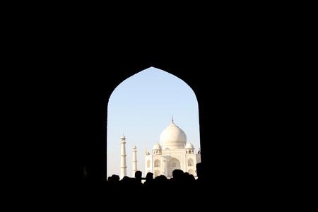 shah: Taj Mahal in Agra, India
