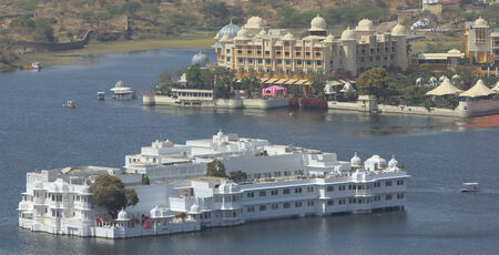 james: The Lake Palace on Lake Pichola in India