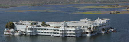 The Lake Palace on Lake Pichola in India