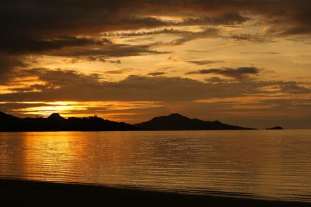 Sunset Beach in Fiji