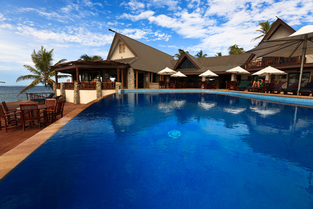 sunshines: Luxury Hotel with Pool Editorial