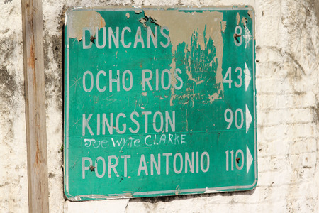Kingston Road Sign