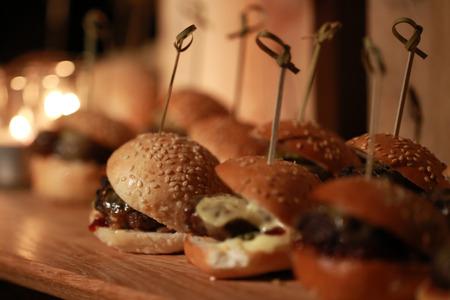 sliders: Hamburger Sliders