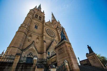 mary's: St Marys Cathedral, Sydney from the exterior