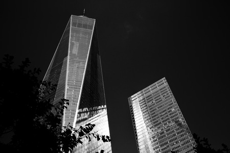 NEW YORK - OCTOBER 5: One World Trade Center (Freedom Tower). Taken in October 5 , 2016 in Manhattan, New York, USA. Editorial