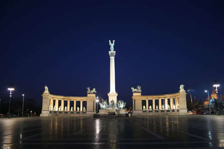 Budapest Heroes Square  photo