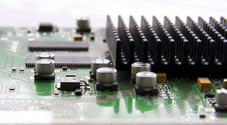 macro shot of a electronic board Stock Photo - 2613085