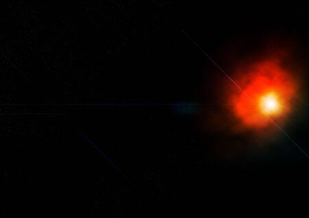 an atmosphere in outer space that shows a very beautiful state Stock Photo - 10016551