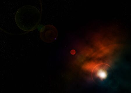 alight: an atmosphere in outer space that shows a very beautiful state