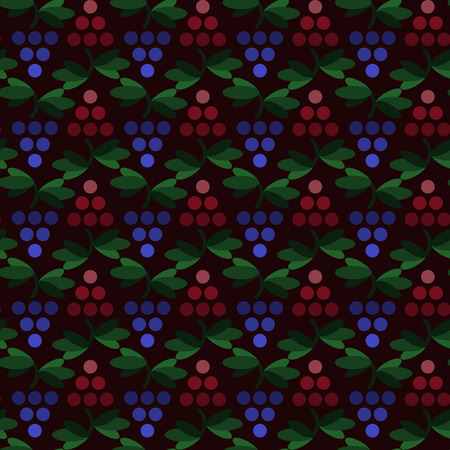 sommelier: geometric grapes simple vector seamless pattern Illustration