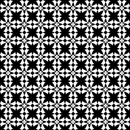 modular rhythm: Vector seamless pattern. Modern stylish texture. Repeating geometric tiles. Monochromatic geometric pattern