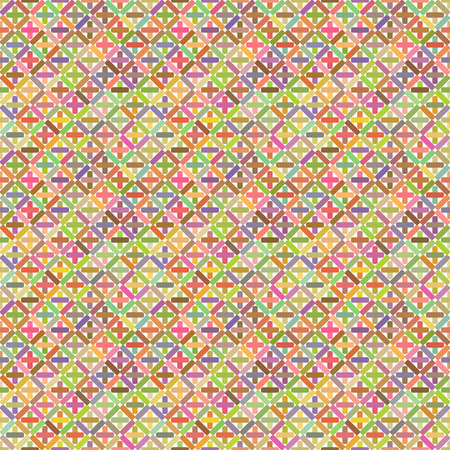 interlacing: Seamless pattern colorful background, wallpaper with repetition geometric shape. Vector illustration of interlacing, fabric texture