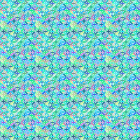 criss cross: Seamless pattern colorful background, wallpaper with repetition geometric shape. Vector illustration of interlacing, fabric texture