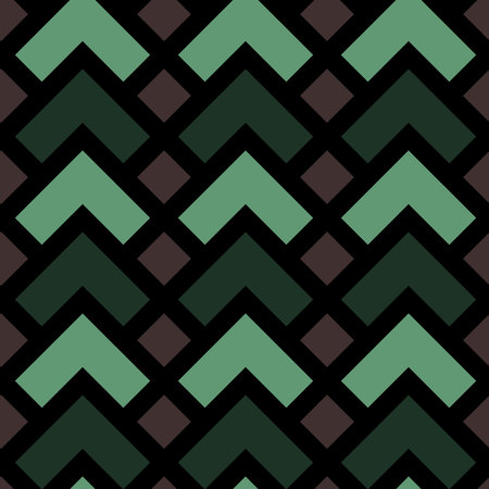 modular rhythm: Vector seamless pattern. Modern stylish texture. Repeating geometric tiles. Colorful geometric pattern