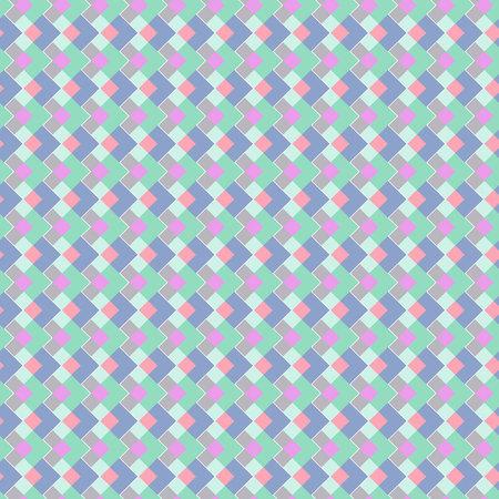 modular rhythm: Vector seamless pattern. Modern stylish texture. Repeating geometric tiles. Colorful geometric pattern
