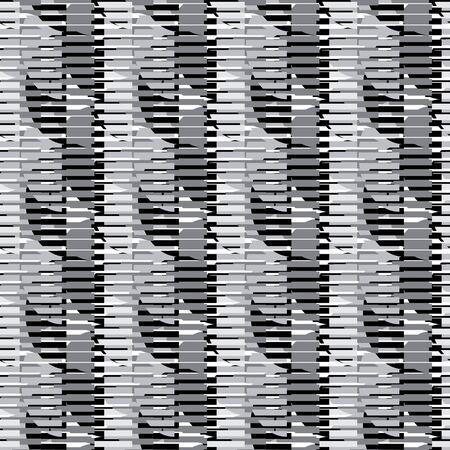 forme geometrique: Seamless vecteur modèle, papier peint avec la forme géométrique répétition Illustration