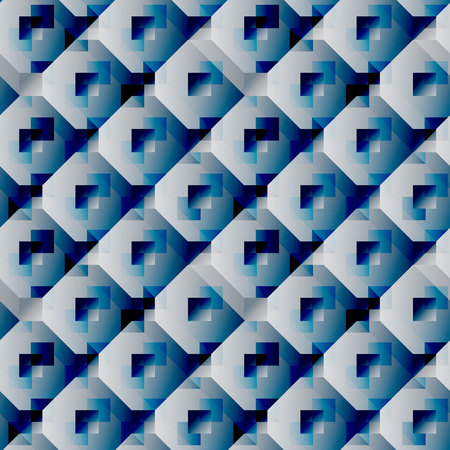 Seamless geometric pattern. Vector repeating texture. Geometric print Vectores