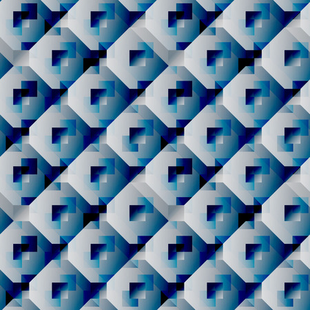 Seamless geometric pattern. Geometric print. Vector repeating texture. Foto de archivo