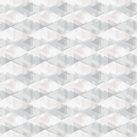 Seamless geometric pattern. Geometric print. Vector repeating texture. Vectores