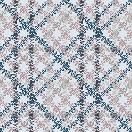 Seamless geometric pattern. Geometric simple print. Vector repeating texture. Vectores