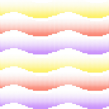 Colorful waves pattern.