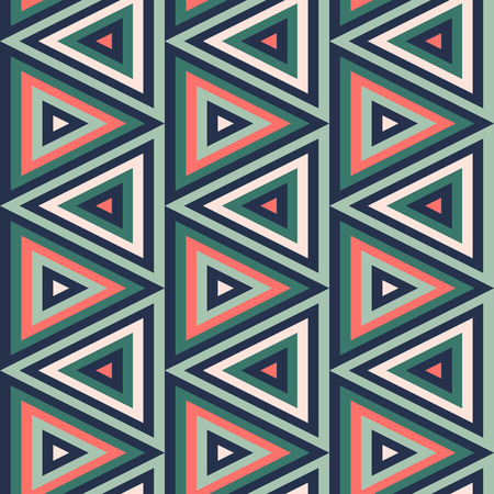 Simple geometric seamless pattern with repeating triangular textures.