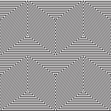 Simple geometric seamless pattern with zigzag. Vectores