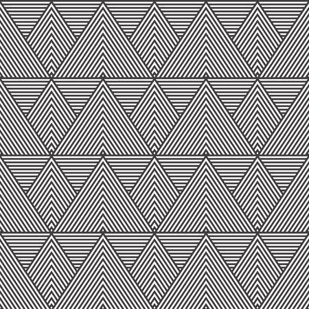 Simple geometric seamless pattern with triangular pattern