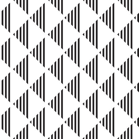 Seamless geometric pattern. Geometric simple print. Vector repeating texture with triangles.