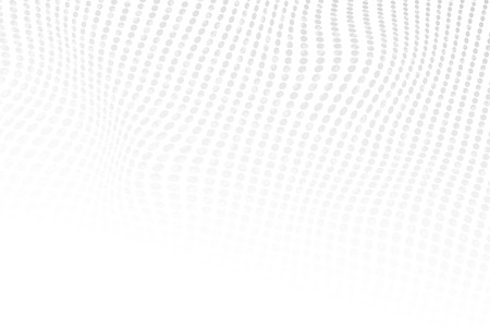Abstract halftone dotted light grey color texture. Vector background. Modern backdrop for posters, sites, business cards, postcards, interior and cover designs.