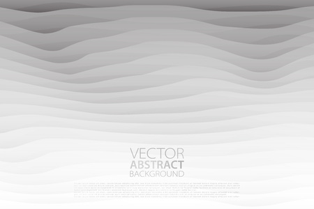 Abstract background with layered wavy effect backdrop.