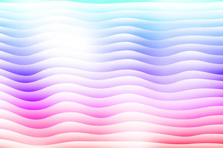Vector abstract background. Layered effect backdrop. Minimalistic texture with wavy motif. Illustration