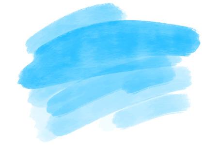 toile de fond artistique, vecteur avec des coups de pinceau, fond de look aquarelle avec des taches colorées peintes à la main