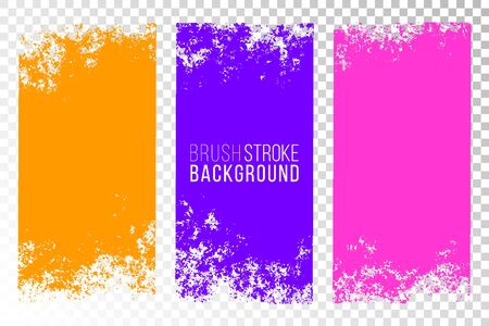 Texture set. Vertical backgrounds. Colorful abstract textured surfaces for design. Illustration