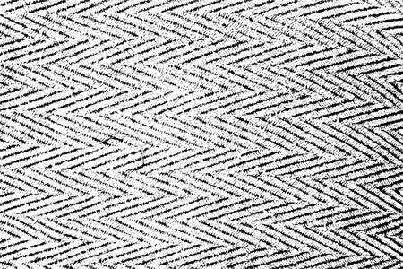 Distressed Overlay-Textur mit rauer Oberfläche, regelmäßige Struktur, Textil, Gewebe mit Chevron-Motiv. Grunge-Hintergrund. Eine farbige Grafikressource.