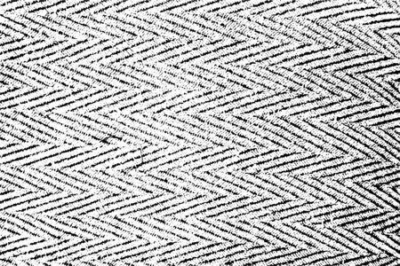 Texture de superposition en détresse de surface rugueuse, structure régulière, textile, tissu tissé avec motif chevron. Fond grunge. Une ressource graphique en couleur.