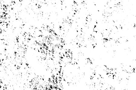 Distressed overlay texture of rough surface, dry soil, cracked ground. Grunge background. One color graphic resource.