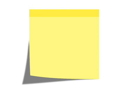 Sticky note photo