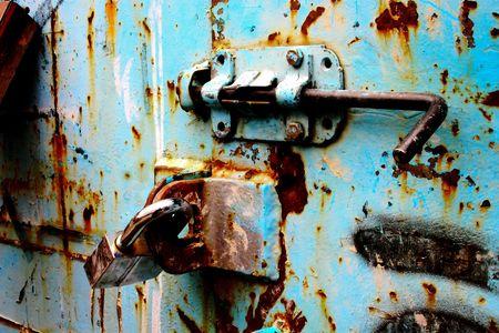 lockbox: Container LockDown Stock Photo