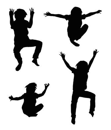 trampoline: Jump Stock Photo