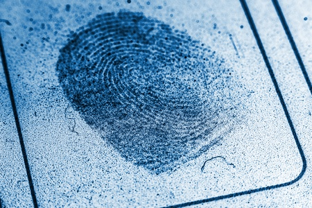 Dusty Fingerprint Record photo