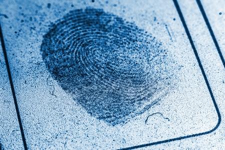 Dusty Fingerprint Record photo